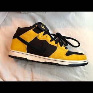 W-Tang Edition Nike SB *like new* Black & Yellow